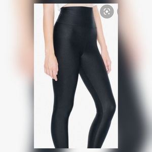 American apparel high waistnylon tricot legging